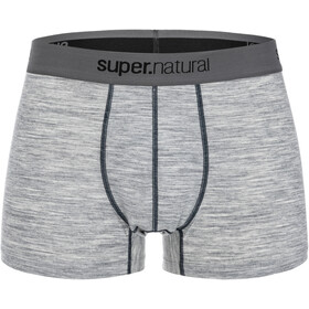 super.natural Base 175 Mid Boxer Herre ash melange/navy blazer